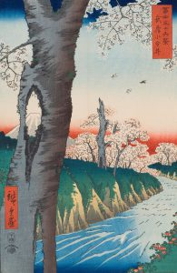 From: Thirty-Six Views of Mount Fuji - Fuji Sanju Rokkei (1858) by Ando Hiroshige