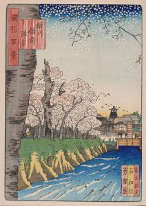 From: 100 Views of Osaka – Naniwa Meisho Hyakkei (187-) by Utagawa Kunikazu