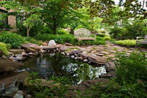 Pocket Park near Roper Hall