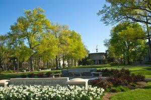 American University Quad Spring 2012