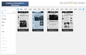 Browse View