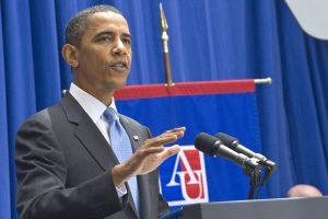 President Barack Obama spoke about immigration reform at AU on July 1, 2010.