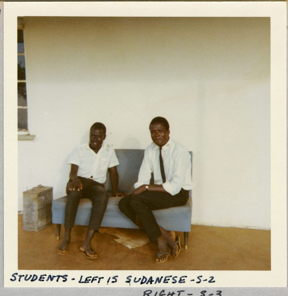 Berney recorded various African superstitions from students like the ones pictured.