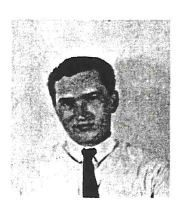 "Photograph of Donald I. Broadwell with biographical data, reading ""Donald, 19, born in Park Rapids, Minnesota, is from Fosston, Minnesota. He studied at Bemidji State Collece, Bemidji, Minnesota, majoring in English and French. He has extensive experience in library materials circulation. He has experience in grounds maintenance and with pre-sensitized photographic plate processing. He also has general farm background. He attended Peace Corps pre-training program in Peurto Rico. Don has held various leadership positions in 4-H and other school and college organizations. He has done volunteer teaching in remedial reading. Hobbies include skiing, swimming, hiking and other individual sports."""
